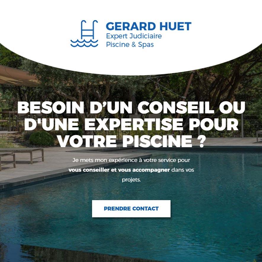gerard huet, expert piscines et spas