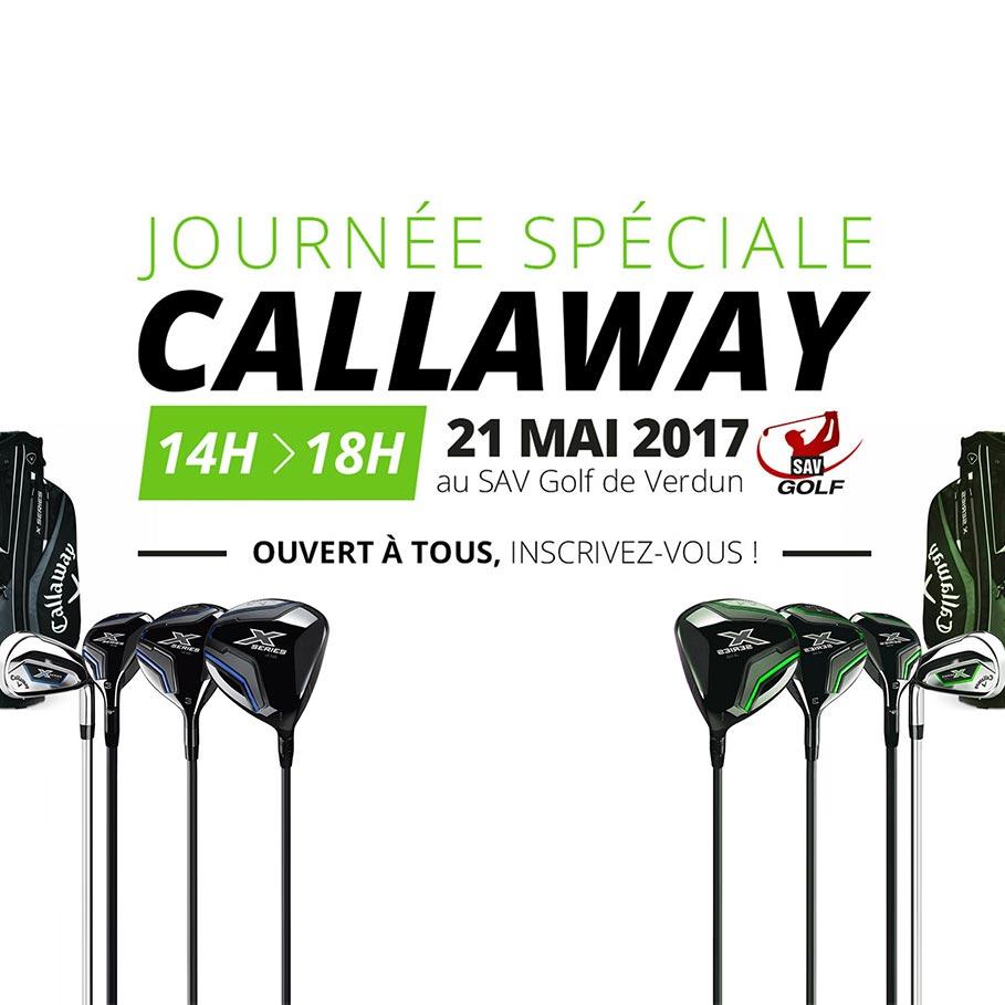 Affiche pour un évènement de golf
