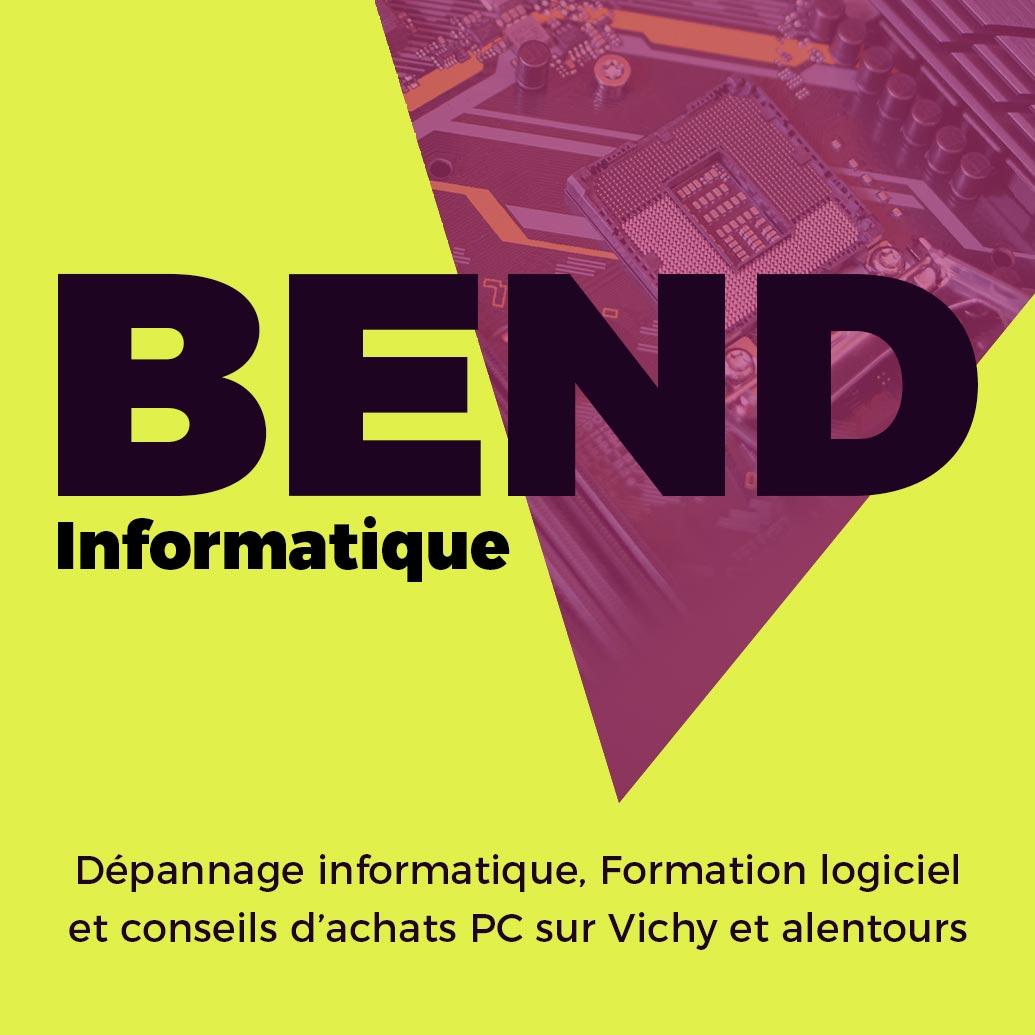 Vignette du site Bend Informatique